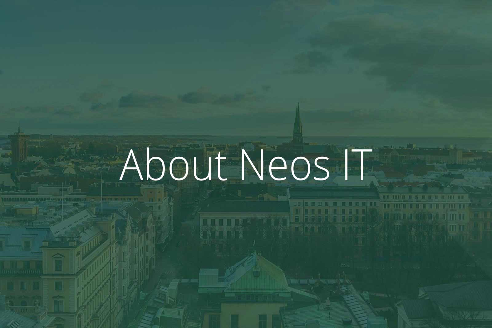 About Neos IT Services, Image Helsinki