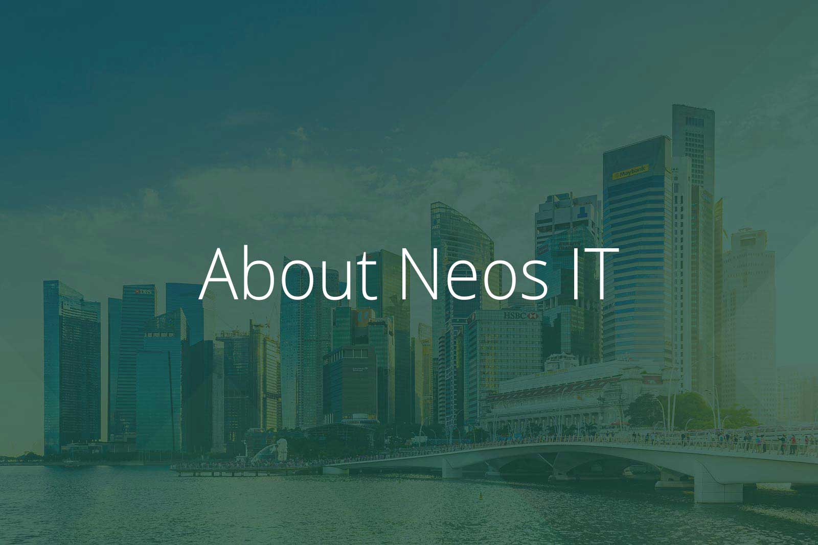 About Neos IT Services, Image Singapore